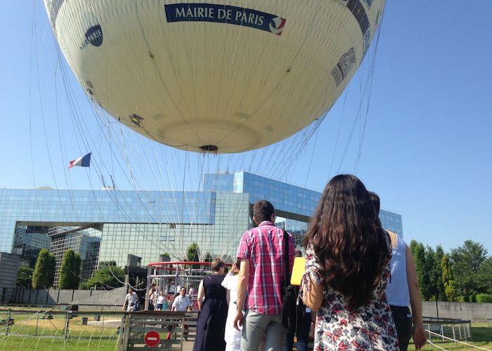 L'AJSPI dans le ciel de Paris !