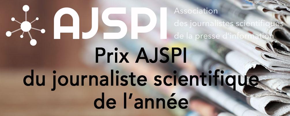 Prix du journaliste scientifique de l'année 2021 – ouverture des candidatures