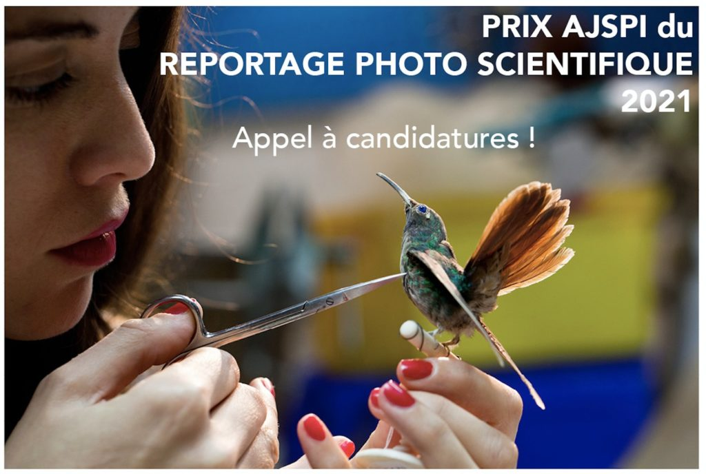 Appel à candidatures pour le Prix du reportage photo scientifique !
