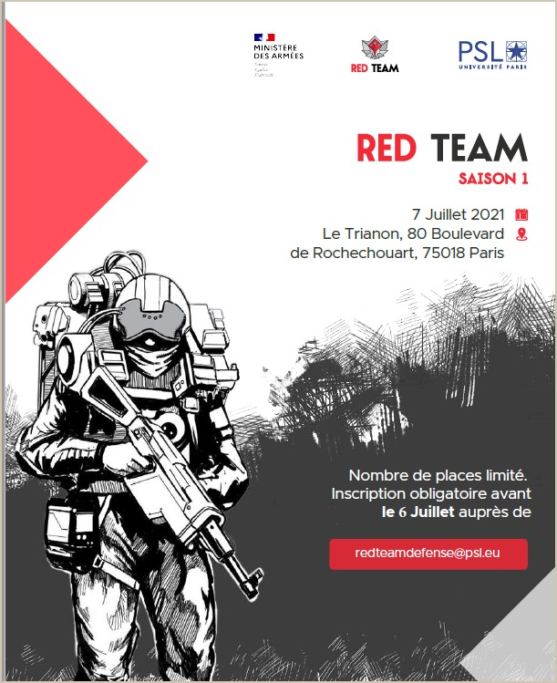Red Team Défense – restitution Saison1 – Invitation