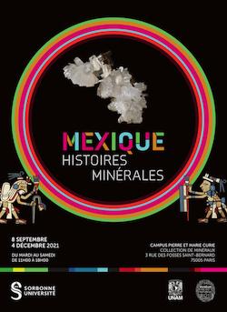 Compte-rendu de la visite de l'exposition « Mexique, histoires minérales »